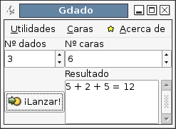 Gdado screenshot